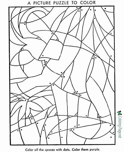 Hidden Coloring Pages Puzzles Puzzle Printable Printables