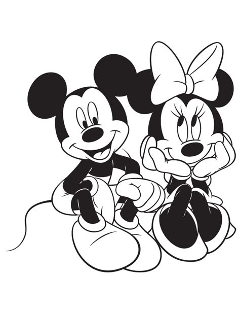 free mickey and minnie mouse free clip free
