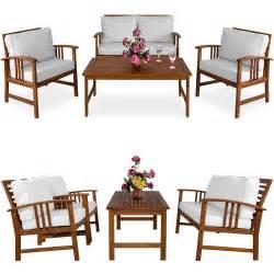 Gartenmöbel Set Holz Mit Bank : sitzgarnitur holz lounge set garten garnitur gartenm bel tisch bank akazie creme 4250525334067 ~ Eleganceandgraceweddings.com Haus und Dekorationen
