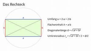 Querschnitt Berechnen Formel : rechner rechteck matheretter ~ Themetempest.com Abrechnung