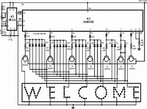 Welcome Led Sign Circuit Diagram