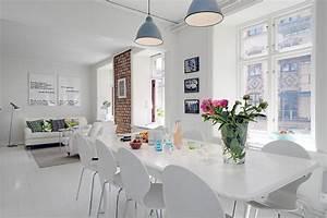 Apartamento Moderno Decorado En Color Blanco