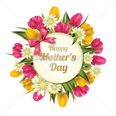 Happy Mothers Day Images Happy Mothers Day Vector Image 1807710 Stockunlimited