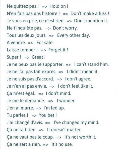 Pin by GerardoM on Franchute | Learn french, Basic french ...