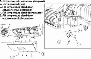 2009 Ford F150 Blend Door Actuator Replacement