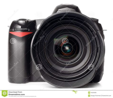 Professional Digital Photo Camera Royalty Free Stock Image
