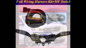 Fog Light Lamp Installing Parts Full Wiring Harness Kit