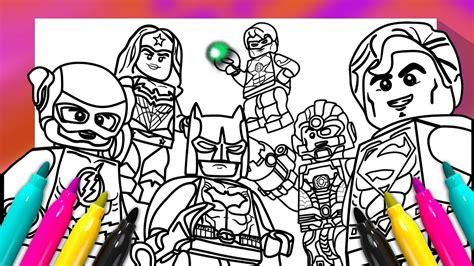 justice league coloring book dc comics superheroes