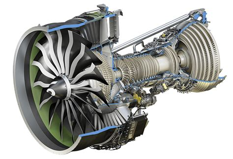 Ge9x Commercial Aircraft Engine