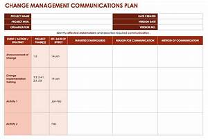 change management plan template invitation template With change communication plan template