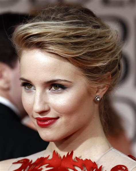 Celebrity Makeup Hairstyle Ideas For Red Dresses