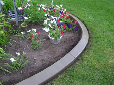 landscape edging back yard landscape 7 fantastic concrete yard edging garden edging logs decor outside