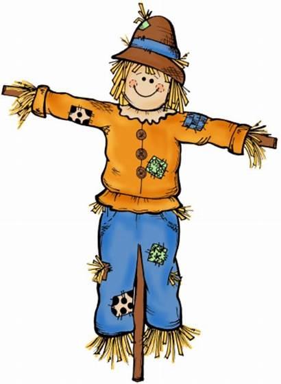 Scarecrow Clip Orangan Orang Sawah Kartun Espantapajaros