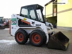 Bobcat 753 2001 Wheeled Loader Construction Equipment Photo And Specs