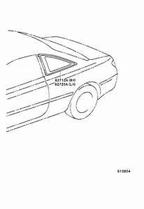 Toyota Solara Window Assembly  Quarter  Left  Windows