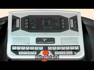 tapis de course techness run 400 mp3 tool fitness youtube With tapis de cours