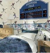 Sports Themed Bedroom Accessories Sports Theme Bedrooms And Room Decor Kids Decorating Ideas