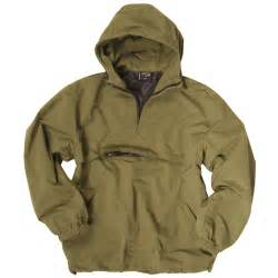 tactical combat mens anorak hooded windproof lightweight