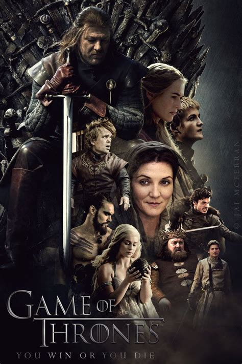 Game of Thrones Season 1 poster by JaiMcFerran on ...