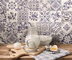 Ceramic Tile Patterns For Kitchen Backsplash Feeling A Bit Blue And White Kitchen Sourcebook