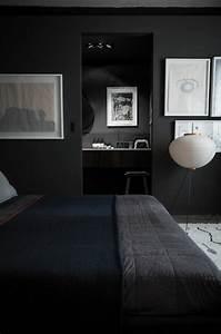 Wandfarbe Grau Schlafzimmer : die graue wandfarbe 43 interieur ideen damit ~ Markanthonyermac.com Haus und Dekorationen