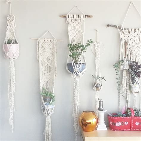 Is your space all set up with the perfect furniture, but still feels kind of boring? Shabby Chic Hanging Planter Wall Accent Bohemian Decor Dorm