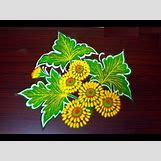 Rangoli Designs With Flowers And Colours | 480 x 360 jpeg 39kB