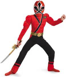 Red Power Ranger Samurai Costume