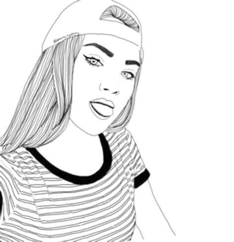 foto ragazze tumbler da colorare disegni di ragazze a matita tecnogers