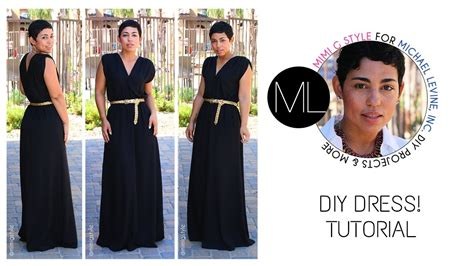 Easy Diy Maxi Dress Tutorial! Mimi G For Michael Levine Inc. Diy Wood Coat Rack Maxi Skirt Tutorial Sawhorses Xmas Tree Costume Kitchen Remodel Ideas Bday Party Food Step By Steel Frame Home Kits