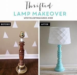 Diy modern rustic wood lamp mountain modern life for Floor lamp makeover ideas