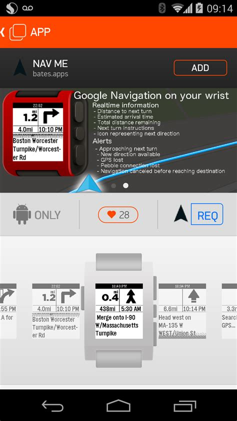pebble launches app store on android new apps from ebay