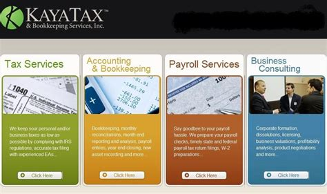 Kaya Tax And Bookkeeping Services  Tax Services 16520
