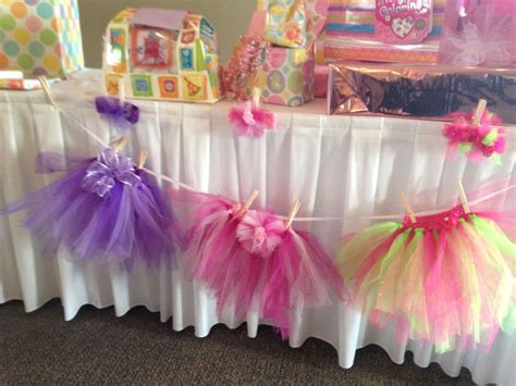 tutu themed baby shower images  pinterest