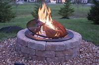 build a fire pit How to build an outdoor firepit- The Polkadot Chair