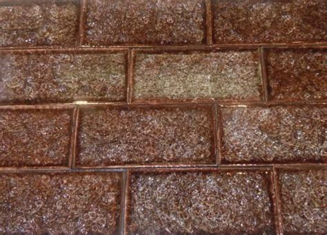 subway crackle glass tile for the home