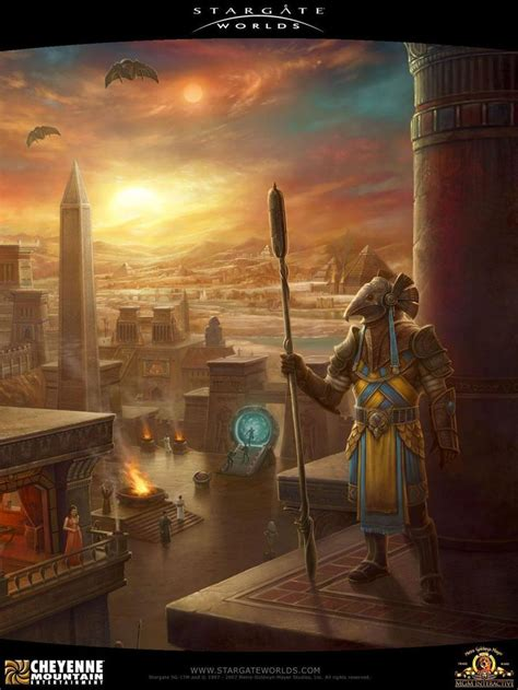 Stargate Worlds Concept Art Gallery | Concept art world ...