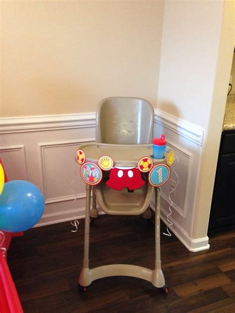 Mickey Mouse High Chair Decorations - 17 best images about gunners 1st birthday on