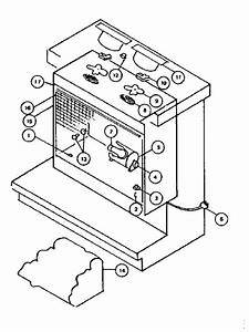 Kenmore Sears Electric Fireplace Parts