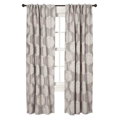 grey medallion curtains target grey curtains home decor
