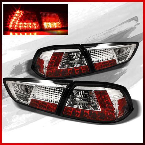 evo x tail lights fits 08 14 mitsubishi lancer evolution evo x led tail