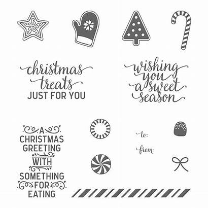 Cane Candy Christmas Stampin Stamp Clear Lane