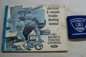 Ford Bronco Courier Electrical Vacuum