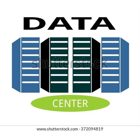 data center information logo communication cloud stock vector  shutterstock