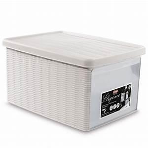 Aufbewahrungsboxen Kunststoff Mit Deckel Für Garten : aufbewahrungsbox kunststoff mit deckel stapelbar xr29 hitoiro ~ Bigdaddyawards.com Haus und Dekorationen