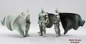 Batman 3D model for printing by cilams on DeviantArt