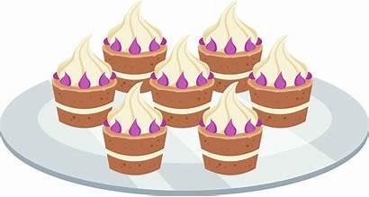 Mlp Cake Plate Clipart Pony Dessert Deviantart