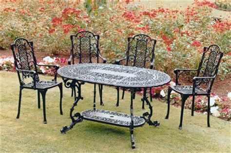 wrought iron garden furniture landscaping gardening ideas