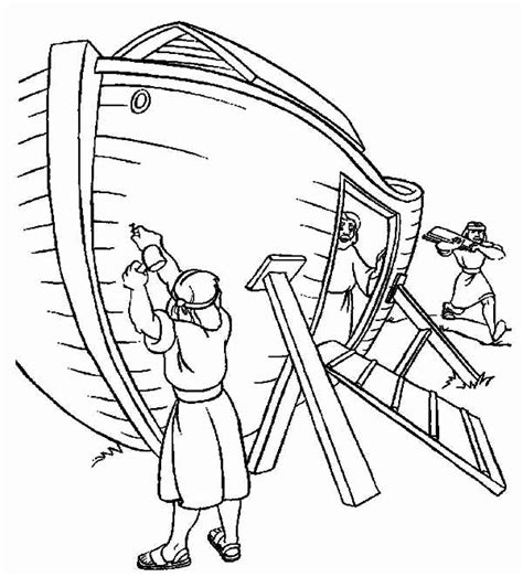 coloring pages  noahs ark  getcoloringscom