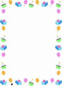 Birthday Borders And Frames | Search Results | Calendar 2015